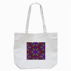 Seamless Tileable Pattern Design Tote Bag (white)