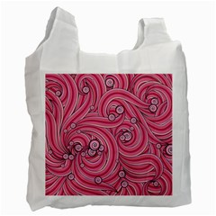 Pattern Doodle Design Drawing Recycle Bag (two Side)