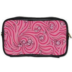 Pattern Doodle Design Drawing Toiletries Bags 2 Side