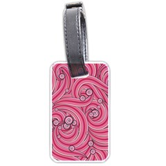 Pattern Doodle Design Drawing Luggage Tags (one Side)