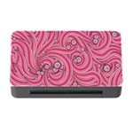 Pattern Doodle Design Drawing Memory Card Reader with CF Front