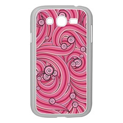 Pattern Doodle Design Drawing Samsung Galaxy Grand Duos I9082 Case (white)