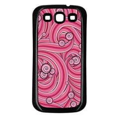 Pattern Doodle Design Drawing Samsung Galaxy S3 Back Case (black)