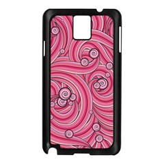 Pattern Doodle Design Drawing Samsung Galaxy Note 3 N9005 Case (black)