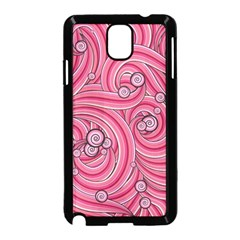 Pattern Doodle Design Drawing Samsung Galaxy Note 3 Neo Hardshell Case (black)