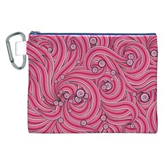 Pattern Doodle Design Drawing Canvas Cosmetic Bag (xxl)