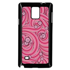 Pattern Doodle Design Drawing Samsung Galaxy Note 4 Case (black)