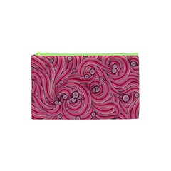 Pattern Doodle Design Drawing Cosmetic Bag (xs)