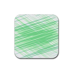 Dirty Dirt Structure Texture Rubber Square Coaster (4 Pack)