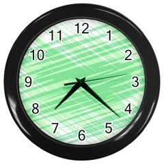 Dirty Dirt Structure Texture Wall Clocks (black)