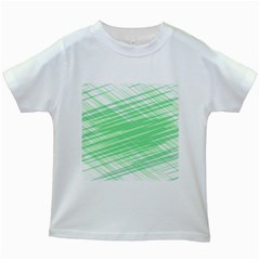 Dirty Dirt Structure Texture Kids White T Shirts
