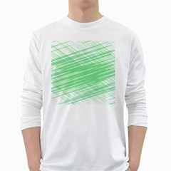 Dirty Dirt Structure Texture White Long Sleeve T Shirts
