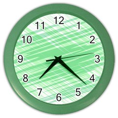 Dirty Dirt Structure Texture Color Wall Clocks