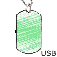 Dirty Dirt Structure Texture Dog Tag Usb Flash (two Sides)