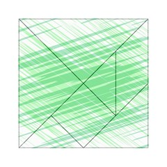 Dirty Dirt Structure Texture Acrylic Tangram Puzzle (6  X 6 )