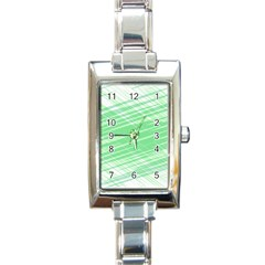 Dirty Dirt Structure Texture Rectangle Italian Charm Watch