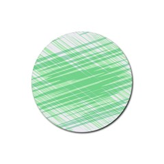 Dirty Dirt Structure Texture Rubber Coaster (round)