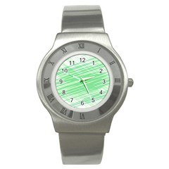 Dirty Dirt Structure Texture Stainless Steel Watch