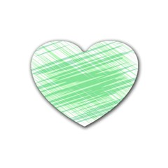 Dirty Dirt Structure Texture Heart Coaster (4 Pack)