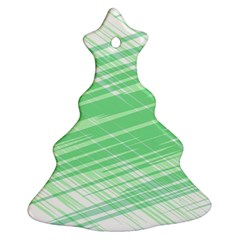 Dirty Dirt Structure Texture Christmas Tree Ornament (two Sides)