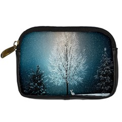 Winter Wintry Snow Snow Landscape Digital Camera Cases