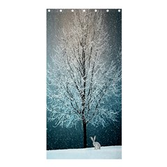 Winter Wintry Snow Snow Landscape Shower Curtain 36  X 72  (stall)