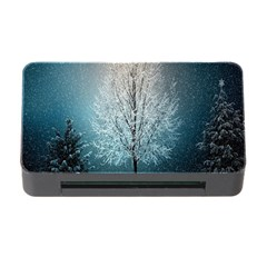 Winter Wintry Snow Snow Landscape Memory Card Reader With Cf