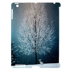 Winter Wintry Snow Snow Landscape Apple Ipad 3/4 Hardshell Case (compatible With Smart Cover)