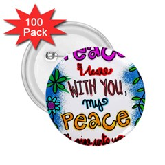Christian Christianity Religion 2 25  Buttons (100 Pack)