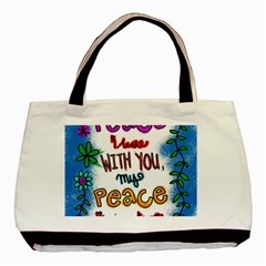Christian Christianity Religion Basic Tote Bag (two Sides)