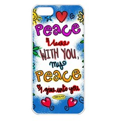 Christian Christianity Religion Apple Iphone 5 Seamless Case (white)