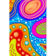 Abstract Pattern Painting Shapes 5 5  X 8 5  Notebooks