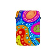 Abstract Pattern Painting Shapes Apple Ipad Mini Protective Soft Cases