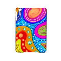 Abstract Pattern Painting Shapes Ipad Mini 2 Hardshell Cases