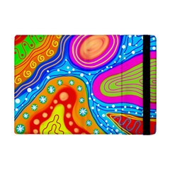 Abstract Pattern Painting Shapes Ipad Mini 2 Flip Cases