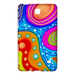 Abstract Pattern Painting Shapes Samsung Galaxy Tab 4 (8 ) Hardshell Case