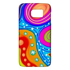 Abstract Pattern Painting Shapes Galaxy S6