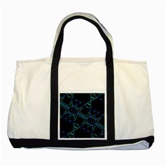 Warp Two Tone Tote Bag