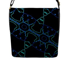 Warp Flap Messenger Bag (l)