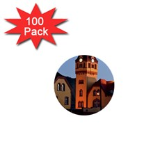 Blue Hour Colliery House 1  Mini Buttons (100 Pack)
