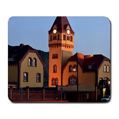 Blue Hour Colliery House Large Mousepads