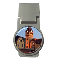 Blue Hour Colliery House Money Clips (round)