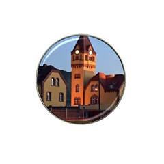 Blue Hour Colliery House Hat Clip Ball Marker (4 Pack)