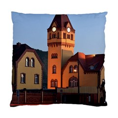 Blue Hour Colliery House Standard Cushion Case (two Sides)
