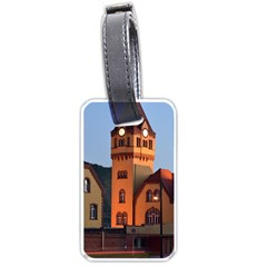 Blue Hour Colliery House Luggage Tags (one Side)