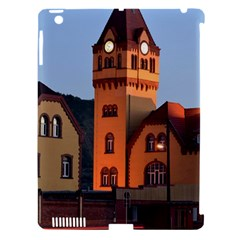 Blue Hour Colliery House Apple Ipad 3/4 Hardshell Case (compatible With Smart Cover)