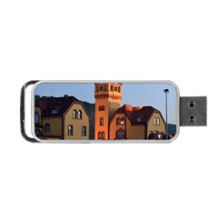 Blue Hour Colliery House Portable Usb Flash (two Sides)