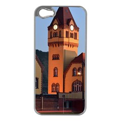 Blue Hour Colliery House Apple Iphone 5 Case (silver)