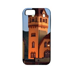 Blue Hour Colliery House Apple Iphone 5 Classic Hardshell Case (pc+silicone)