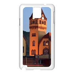 Blue Hour Colliery House Samsung Galaxy Note 3 N9005 Case (white)